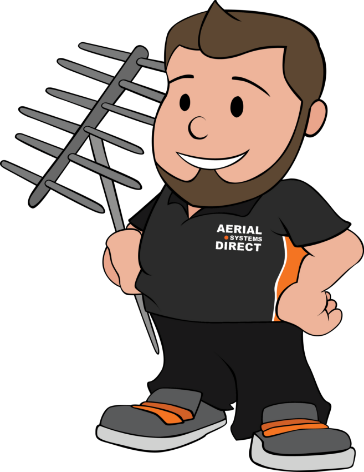 Aerial Systems Direct Kent mascot